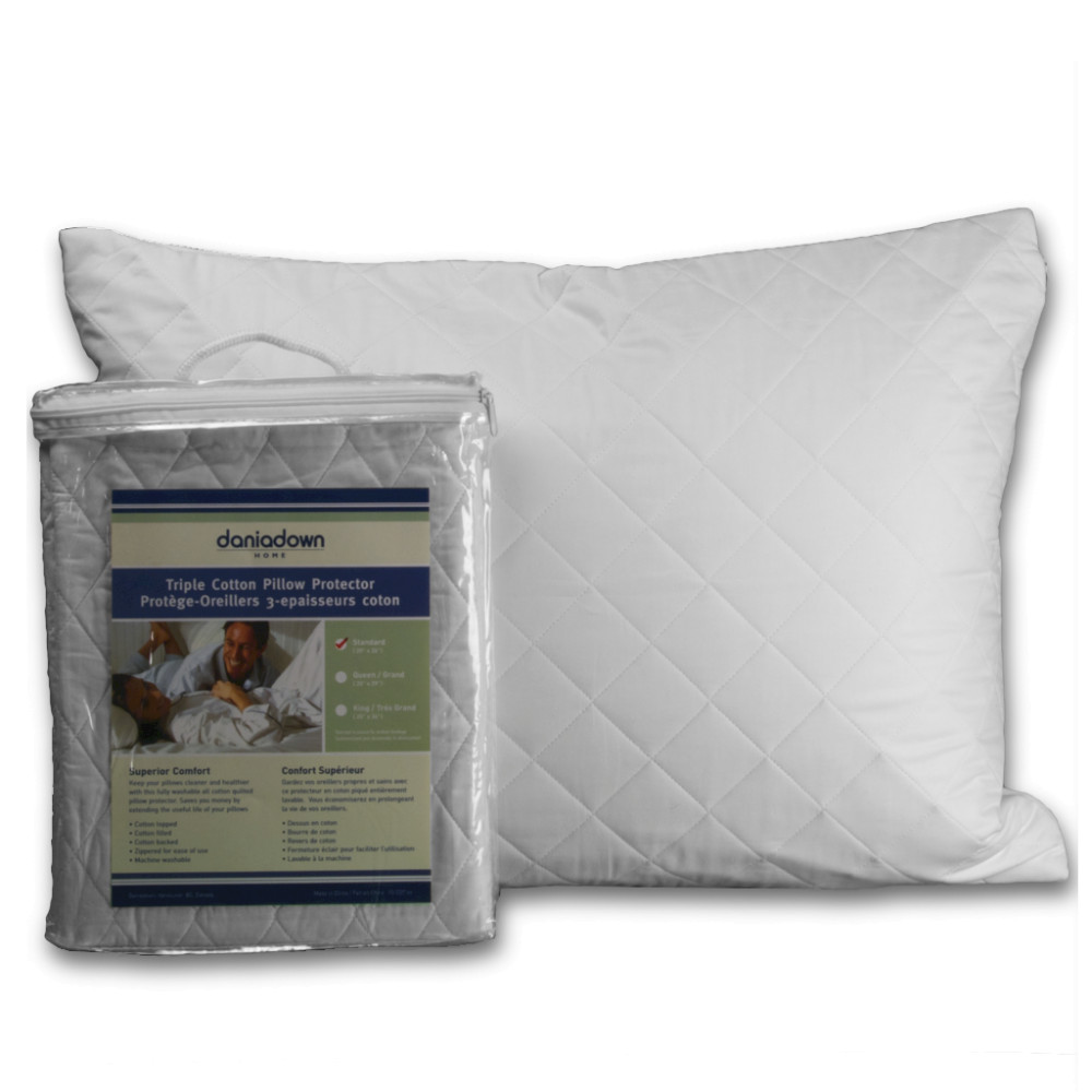 Triple Cotton PillowProtector